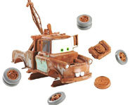 Picture of the the Disney Pixar Cars, Later Mater Puzzle Game from Mattel.