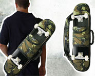 Picture of the Ozel skateboarding bag.