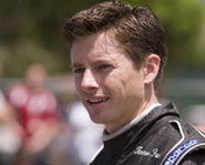 Photo of rally car driver, Tanner Foust.