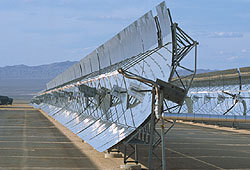Solar energy is a clean, renewable source of energy.