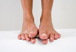 Sweaty shoes are filled with bacteria, making your feet stink!