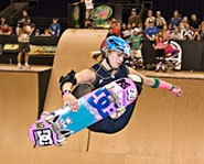 Picture of Lyn Z Adams Hawkins at X Games 12.