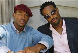 Shawn and Marlon Wayans are the creators of the new cartoon, Thugaboo: Sneaker Madness.
