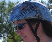 Skull Skins are interchangeable helmet wear.