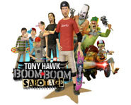 Tony Hawk in Boom Boom Sabotage is an animated movie featuring Tony Hawk.