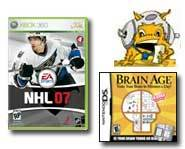 Get the scoop on a free NHL 07 game demo for Xbox 360, and on Nintendo