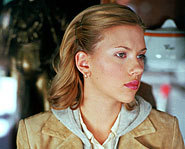 Scarlett Johansson starred opposite of Topher Grace in the movie, In Good Company.