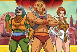 He-Man was one of the most popular cartoons of the 80s.