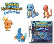 Become a Pokemon in the Pokemon Mystery Dungeon: Blue Rescue Team game for Nintendo DS! We review it here.