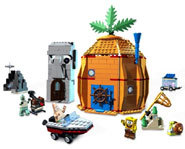 Picture of a SpongeBob LEGO playset.