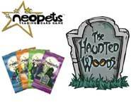 We review the spooky new Neopets card game set