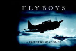 James Franco stars in the World War I flick, Flyboys.