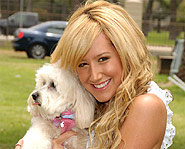 Ashley Tisdale starred in High School Musical.