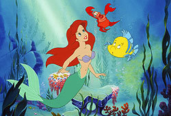 You can catch Ariel in The Little Mermaid on DVD!