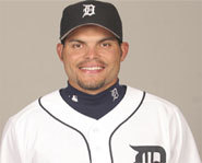 Photo of Ivan Rodriguez of the Detroit Tigers.