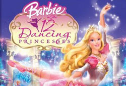 Barbie stars in a new movie called Barbie in the 12 Dancing Princesses.