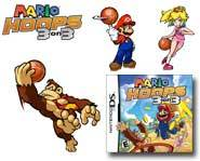 Mario and the Mushroom Kingdom crew hit the court for some basketball! We review the Nintendo DS game here.