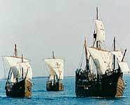 Columbus didn't know he was heading for America when he set sail in 1492.