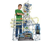 Photo of the K'Nex Vertical Vengeance Coaster building kit.