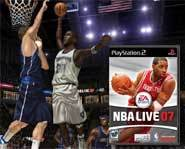 We review EA's NBA Live 07 basketball video game for PC, PSP, PS2, Xbox and Xbox 360!