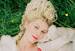 Kirsten Dunst and Jason Schwartzman star in the movie, Marie Antoinette.