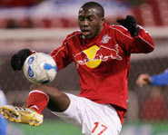 Photo of teen soccer star, Jose Altidore, of the New York Red Bulls.