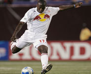 Picture of teen soccer star, Jose Altidore, of the New York Red Bulls.