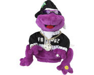 Photo of hip hop Frogz from Gemmy Industries.