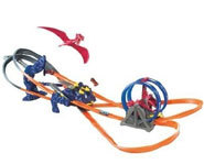 Picture of the Hotwheels Terrordactyl track set.