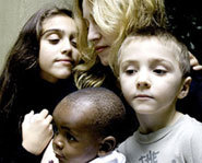 Madonna is in the process of adopting a young Malawian boy named David.