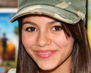 Picture of Zoey 101 star, Victoria Justice.