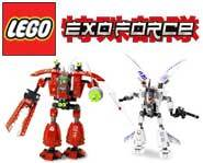 Picture of the LEGO Exo-Force model kit.