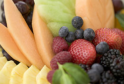 Try eating more fruit this Christmas as a healthy alternative to cakes and cookies.