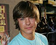 Zac Efron stars in High School Musical.