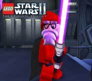 Unleash Santa Claus, Jedi Master, with this video game cheat for LEGO Star Wars II: The Original Trilogy!