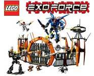 Build the adventure with <B>Sensei Keiken</B> and the <B>EXO-Force</B> warriors as <B>Meca One</B> leads the assault on <B>Sentai Fortress</B>!