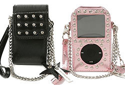 Make your cell phone and iPod sparkle with these electronic accessories from mary-kateandashley!