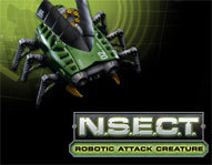Command an <b>incredible</b> remote control <b>robot bug</b>, complete with pop-up <b>dart-launcher!</b> We <b>review</b> this new toy.