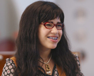 America Ferrera plays Betty Suarez on Ugly Betty.