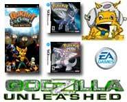 Get the 411 on a <b>Godzilla</b> game, <b>Pokemon Diamond</b> & Pearl, EA's <b>girl gaming</b> goodness and more <b>Ratchet & Clank</b> previews!