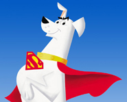 Krypto the Superdog was Superman's pet when they both lived on the planet Krypton.