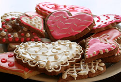 Bake your boyfriend a special batch of Valentine cookies!