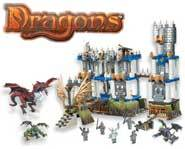 Build the massive <b>Battlestorm Castle</b> and wage fierce battles over the <b>Plasma Krystal</b> with <b>knights</b> and <b>dragons!</b>