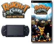 Ratchet and Clank team up to take on a super-sized adventure on the pint-size Sony PSP. Gary's got a game review here!