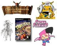 YTV's Captain Flamingo get game, Pirates of the Caribbean go online for free and Thrillville wins big! Here's the news.