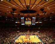 The New York Knicks call Madison Square Gardens home.