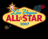 The 2007 NBA All-Star weekend will be hosted in Las Vegas.