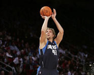 Dirk Nowitzki will show off his 3-point talents at the 2007 All-Star weekend.