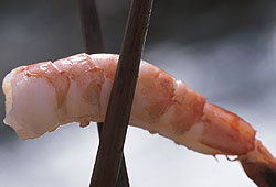 Shrimp is an excellent source of protein.