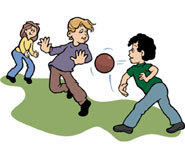 We all have played dodgeball in gym class once or twice.